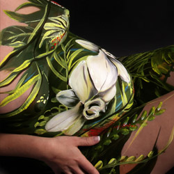 Bodypainting Babybauch